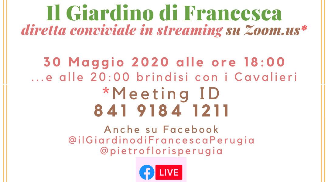 Il Giardino di Francesca, LIVE 2020